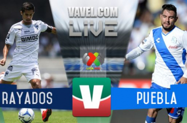 Resultado Monterrey - Puebla en Liga MX 2015 (1-1)