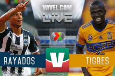 Resultado y goles del Monterrey 2-0 Tigres de la Liga MX 2017