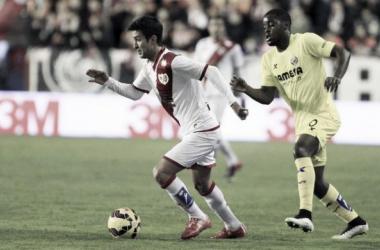 El Rayo aleja de los puestos de Champions al Villarreal