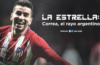 La Estrella: Correa, el rayo argentino