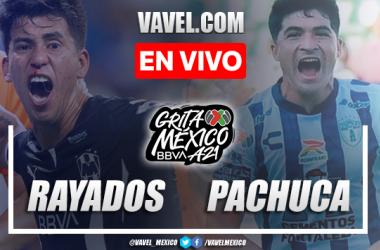 Goles y resumen del Rayados 3-1 Pachuca en Liga MX 2021