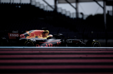 Max Verstappen, el más rápido en los FP3. Fuente: Red Bull.