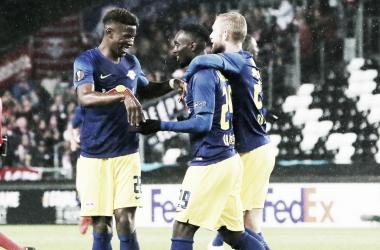 Cómoda victoria del Leipzig en Noruega