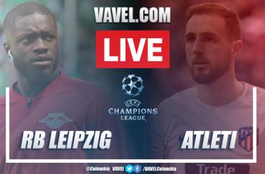 Resumen Leipzig vs. Atlético de Madrid por la Champions League 2020 (2-1)