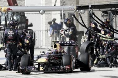 Red Bull realizó en Austin el pitstop más rápido de la historia de la F1: 1,923 segundos