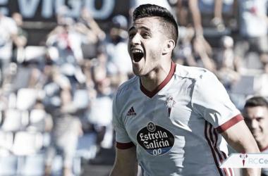 Maxi Gómez será baja en el encuentro ante el Sevilla