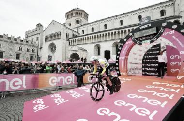 Rohan Dennis. Fonte:Foto Credit: LaPresse- D'Alberto / Ferrari / Paolone / Alpozzi