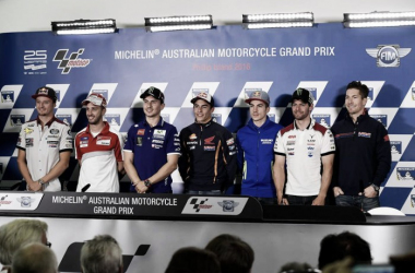 Rueda de prensa del GP de Australia de MotoGP 2016