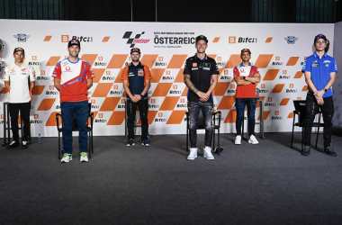 Rueda de prensa del Gran Premio de Austria 2021