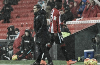 Valverde, en el partido frente al Villarreal | Foto: La Liga