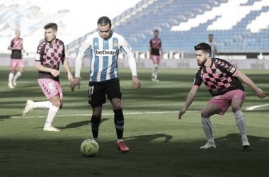 Con el anotado ante el CE Sabadell, el madrileño ya suma 15 dianas y se sitúa a tiro del pichichi Djuka | Foto: RCDE