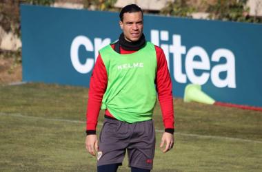 Raúl de Tomás el goleador de esta temporada del Rayo. fotografía: Gema Paz Curiel