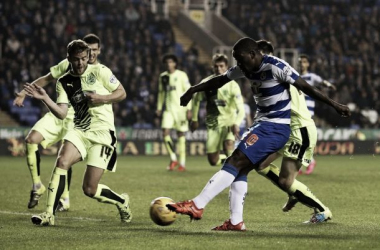 Ola John grabbed a late equalizer as Reading struggle to draw.
