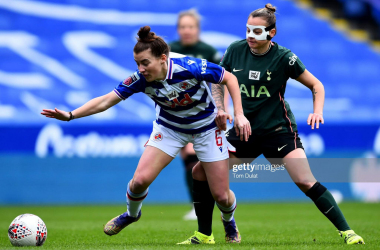 Reading held to a goalless draw to Tottenham in the Women's Super League