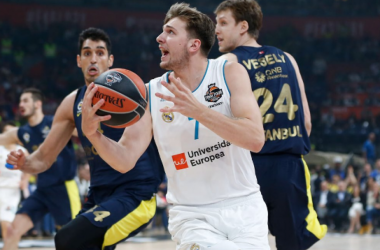Turkish Airlines EuroLeague - Doncic in azione - Foto Real Madrid Baloncesto Twitter