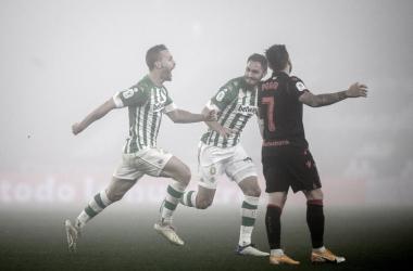 Betis bate Real Sociedad na prorrogação e avança às quartas da Copa do Rei