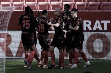 Partido Sevilla FC- Real Sociedad/Fuente: Real Sociedad Tw
