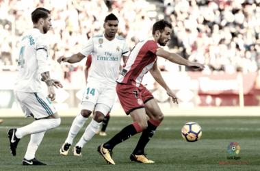El Girona recibió al Real Madrid por primera vez en Montilivi | Foto: LaLiga