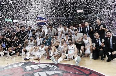 Real Madrid campeón de la Liga Endesa 2017-18 | Foto: ACB.com