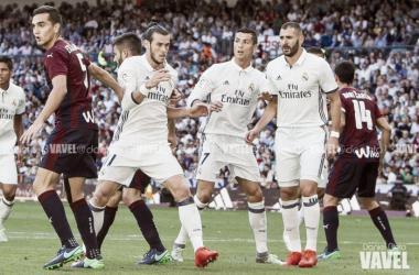 Último encuentro disputado entre madridistas y armeros en el Bernabéu, con empate a uno final I Foto: Daniel Nieto (VAVEL)