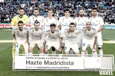 Los once elegidos por Zidane antes del partido | Foto: Daniel Nieto (VAVEL)