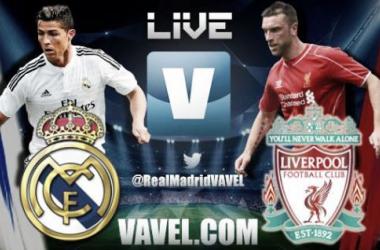 Live Champions League : le match Real Madrid - Liverpool en direct