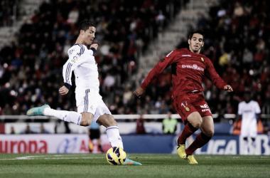 Cristiano Ronaldo y Pedro Bigas, Mallorca - Real Madrid / Fuente: Real Madrid