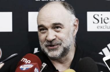 Pablo Laso en rueda de prensa | Foto: RealMadrid.com