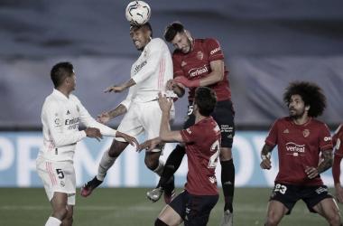 Real Madrid se mide con Osasuna en el Bernabéu | Foto: LaLiga