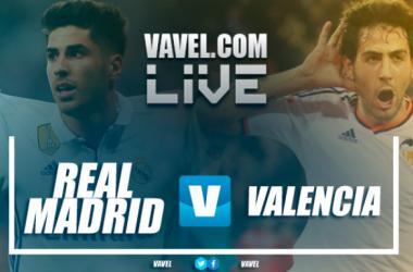 Real Madrid vs Valencia en tiempo real | Imagen: Vavel