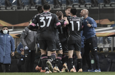 Politano decide no segundo tempo, Napoli vence Real Sociedad e se recupera na Uefa Europa League