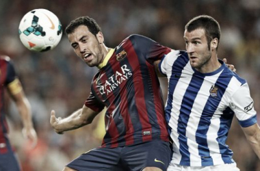 Com objetivos distintos, Real Sociedad e Barcelona se enfrentam no Anoeta