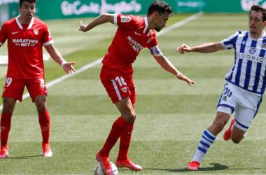 Real Sociedad vs Sevilla FC || Foto: LaLiga
