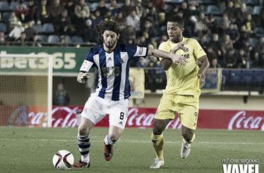Resultado Real Sociedad - Villarreal en la Copa del Rey 2015 (2-2)
