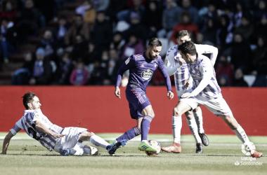 Partido entre el Real Valladolid y RC Celta de la jornada pasada | LaLiga Santander