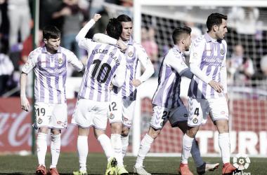 El Real Valladolid, a tres puntos del descenso // FUENTE: La Liga