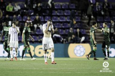 Un mes sin ganar // FUENTE: Real Valladolid