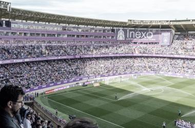 Estadio José Zorrilla de fondo. (foto RealValladolid.es)