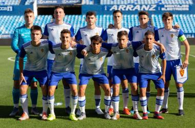 11 inicial del Real Zaragoza. Foto: Marca