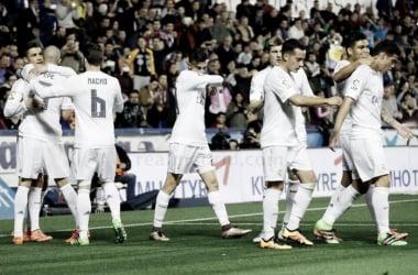 Levante - Real Madrid: puntuaciones Real Madrid, jornada 27 Liga BBVA