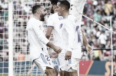 Los 'Merengues' celebraron en el Camp Nou | Foto: Real Madrid