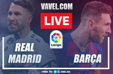 Goals and Highlights: Real Madrid vs Barcelona (2-0) La Liga Clasico