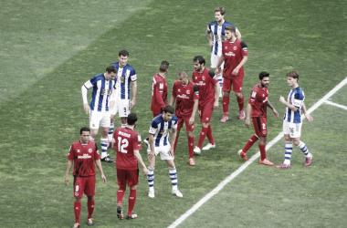 Precedentes de la Real Sociedad ante el Sevilla FC en el Sánchez Pizjuán