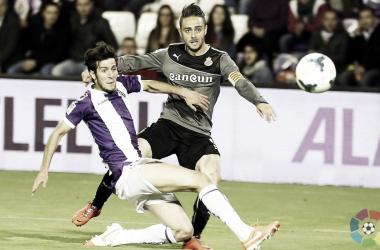 Última vez que el Real Valladolid y el Espanyol se vieron en Zorrilla | LaLiga