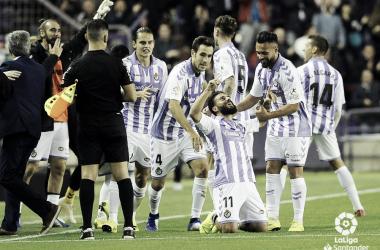 Celebración de Verde en su gol | laLiga Santander