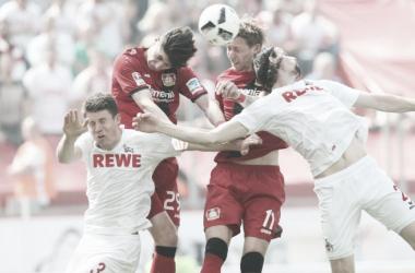 Bundesliga - 2-2 di fuoco tra Colonia e Bayer. Ok Hertha. L'Amburgo è vivo, va giù l'Ingolstadt