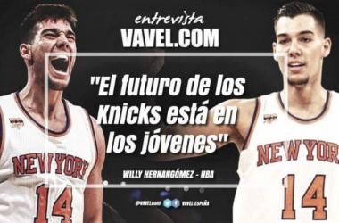"""Willy Hernángomez para NBA VAVEL: """"El futuro de los Knicks está en los jóvenes"""" (Martí Valerse)"""