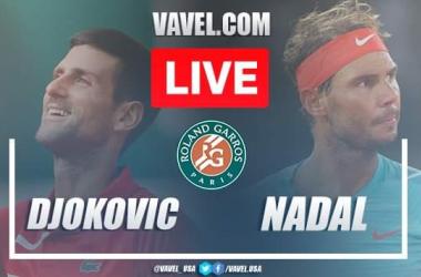 Nadal vs Djokovic Live Stream Updates and Score in French Open (3-0)
