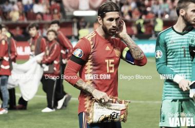 Sergio Ramos, uno de los elegidos para optar al XI del 2019 / Foto: Diego Blanco (VAVEL)