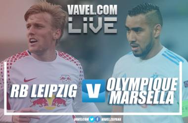 Resumen RB Leipzig 1-0 Olympique de Marsella en Europa League 2018